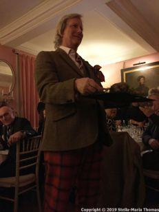 WILLIAM SITWELL'S BURNS NIGHT SUPPER CLUB, THE HAGGIS 007