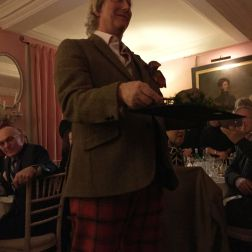 WILLIAM SITWELL'S BURNS NIGHT SUPPER CLUB, THE HAGGIS 007