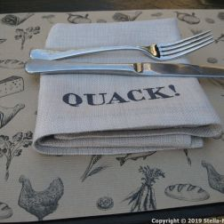 THE MUDDY DUCK, NAPKINS 004