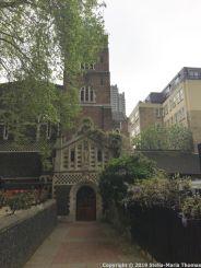 LONDON WALK, EUSTON TO BOROUGH MARKET VIA WOOD STREET 071