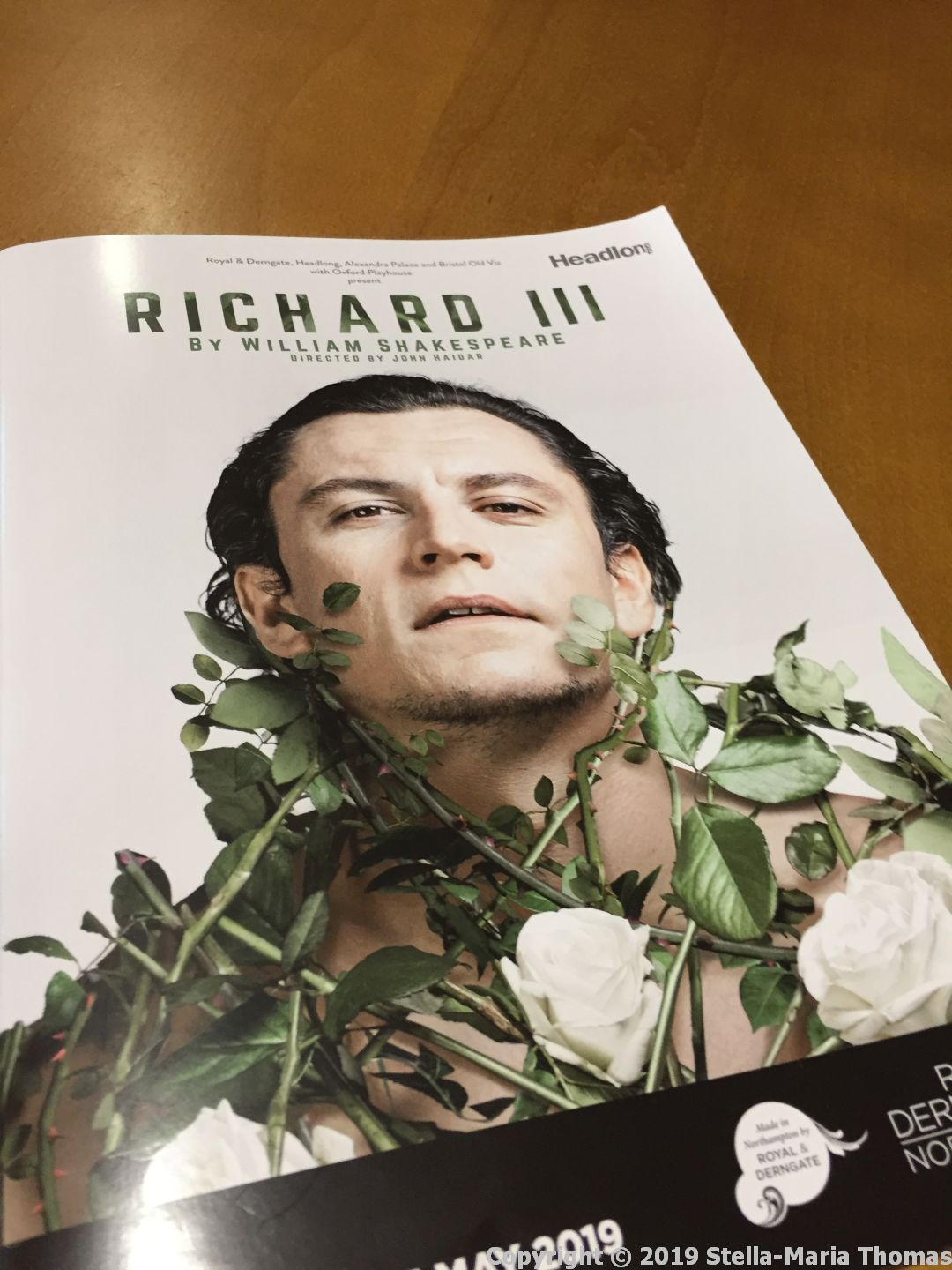 Theatre 2019 – Richard III, Royal and Derngate, Northampton