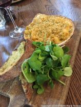 SUNDAY LUNCH AT THE MUDDY DUCK, LOBSTER BISQUE MAC AND CHEESE WITH GARLIC CROUTE 011