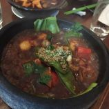 THE CHINESE CRICKET CLUB, MONKFISH IN A SPICY BLACK BEAN SAUCE 005