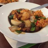 THE CHINESE CRICKET CLUB, SAUTEED KING PRAWN AND SCALLOPS IN XO SAUCE 009