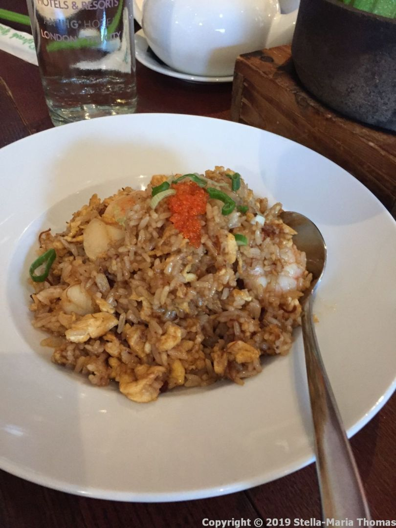 THE CHINESE CRICKET CLUB, XO SEAFOOD FRIED RICE 008