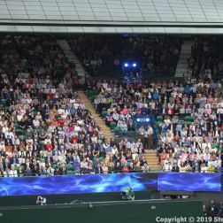 WIMBLEDON NO 1 COURT CELEBRATION 008