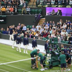 WIMBLEDON NO 1 COURT CELEBRATION 016