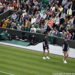 WIMBLEDON NO 1 COURT CELEBRATION 017