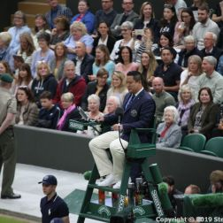 WIMBLEDON NO 1 COURT CELEBRATION 037