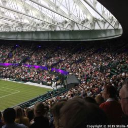 WIMBLEDON NO 1 COURT CELEBRATION 194