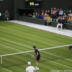 WIMBLEDON NO 1 COURT CELEBRATION, A WIMBLEDON BALLBOY, JAMIE MURRAY 112