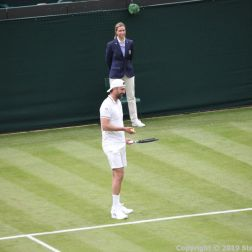 WIMBLEDON NO 1 COURT CELEBRATION, GORAN IVANISEVIC 063