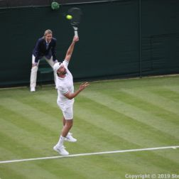 WIMBLEDON NO 1 COURT CELEBRATION, GORAN IVANISEVIC 066