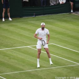 WIMBLEDON NO 1 COURT CELEBRATION, GORAN IVANISEVIC 068