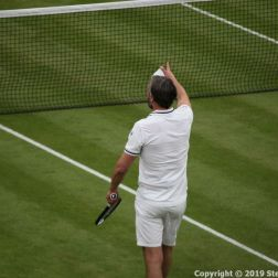 WIMBLEDON NO 1 COURT CELEBRATION, GORAN IVANISEVIC 073