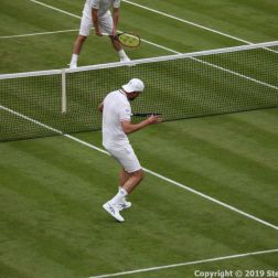 WIMBLEDON NO 1 COURT CELEBRATION, GORAN IVANISEVIC 094