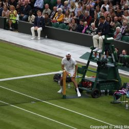WIMBLEDON NO 1 COURT CELEBRATION, GORAN IVANISEVIC 113