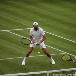 WIMBLEDON NO 1 COURT CELEBRATION, GORAN IVANISEVIC, LLEYTON HEWITT 081