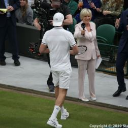 WIMBLEDON NO 1 COURT CELEBRATION, GORAN IVANISEVIC, SUE BARKER, JOHN MCENROE 033