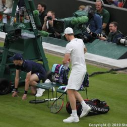 WIMBLEDON NO 1 COURT CELEBRATION, JAMIE MURRAY 045
