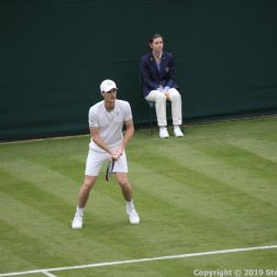 WIMBLEDON NO 1 COURT CELEBRATION, JAMIE MURRAY 204
