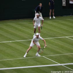WIMBLEDON NO 1 COURT CELEBRATION, JAMIE MURRAY, GORAN IVANISEVIC 054
