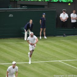 WIMBLEDON NO 1 COURT CELEBRATION, JAMIE MURRAY, GORAN IVANISEVIC 087