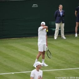 WIMBLEDON NO 1 COURT CELEBRATION, JAMIE MURRAY, GORAN IVANISEVIC 088