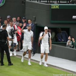 WIMBLEDON NO 1 COURT CELEBRATION, JAMIE MURRAY, GORAN IVANISEVIC V PAT CASH, LLEYTON HEWITT 018