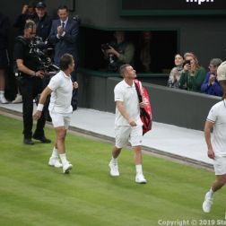 WIMBLEDON NO 1 COURT CELEBRATION, JAMIE MURRAY, GORAN IVANISEVIC V PAT CASH, LLEYTON HEWITT 022