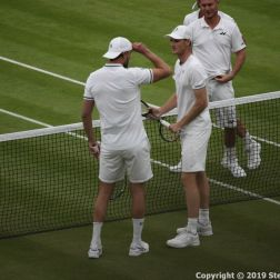 WIMBLEDON NO 1 COURT CELEBRATION, JAMIE MURRAY, GORAN IVANISEVIC V PAT CASH, LLEYTON HEWITT 025