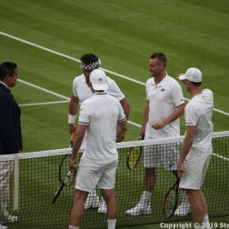 WIMBLEDON NO 1 COURT CELEBRATION, JAMIE MURRAY, GORAN IVANISEVIC V PAT CASH, LLEYTON HEWITT 026