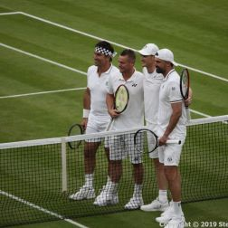 WIMBLEDON NO 1 COURT CELEBRATION, JAMIE MURRAY, GORAN IVANISEVIC V PAT CASH, LLEYTON HEWITT 027