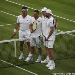 WIMBLEDON NO 1 COURT CELEBRATION, JAMIE MURRAY, GORAN IVANISEVIC V PAT CASH, LLEYTON HEWITT 028