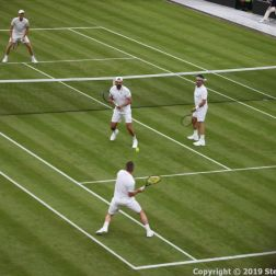 WIMBLEDON NO 1 COURT CELEBRATION, JAMIE MURRAY, GORAN IVANISEVIC V PAT CASH, LLEYTON HEWITT 061