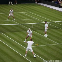 WIMBLEDON NO 1 COURT CELEBRATION, JAMIE MURRAY, GORAN IVANISEVIC V PAT CASH, LLEYTON HEWITT 062