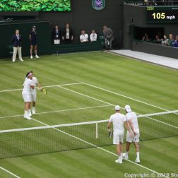 WIMBLEDON NO 1 COURT CELEBRATION, JAMIE MURRAY, GORAN IVANISEVIC V PAT CASH, LLEYTON HEWITT 123