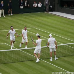 WIMBLEDON NO 1 COURT CELEBRATION, JAMIE MURRAY, GORAN IVANISEVIC V PAT CASH, LLEYTON HEWITT 124