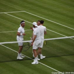 WIMBLEDON NO 1 COURT CELEBRATION, JAMIE MURRAY, GORAN IVANISEVIC V PAT CASH, LLEYTON HEWITT 127