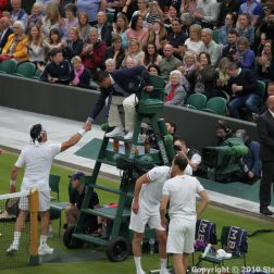 WIMBLEDON NO 1 COURT CELEBRATION, JAMIE MURRAY, GORAN IVANISEVIC V PAT CASH, LLEYTON HEWITT 130