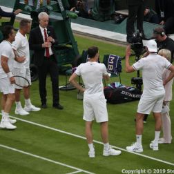 WIMBLEDON NO 1 COURT CELEBRATION, JAMIE MURRAY, GORAN IVANISEVIC V PAT CASH, LLEYTON HEWITT 131