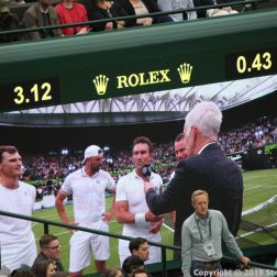 WIMBLEDON NO 1 COURT CELEBRATION, JAMIE MURRAY, GORAN IVANISEVIC V PAT CASH, LLEYTON HEWITT 133