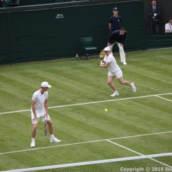 WIMBLEDON NO 1 COURT CELEBRATION, JAMIE MURRAY, MARTINA NAVRATILOVA 220