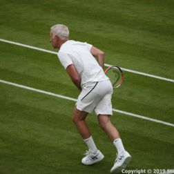 WIMBLEDON NO 1 COURT CELEBRATION, JOHN MCENROE 215
