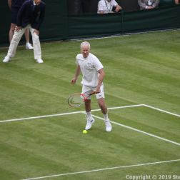 WIMBLEDON NO 1 COURT CELEBRATION, JOHN MCENROE 225