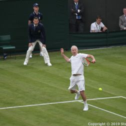 WIMBLEDON NO 1 COURT CELEBRATION, JOHN MCENROE 226