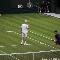 WIMBLEDON NO 1 COURT CELEBRATION, JOHN MCENROE 232