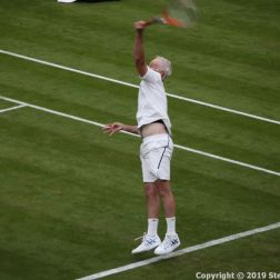 WIMBLEDON NO 1 COURT CELEBRATION, JOHN MCENROE 250