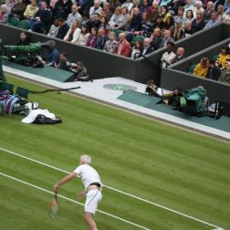 WIMBLEDON NO 1 COURT CELEBRATION, JOHN MCENROE 253