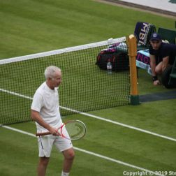 WIMBLEDON NO 1 COURT CELEBRATION, JOHN MCENROE 270